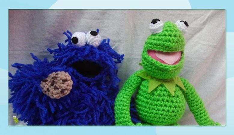 Rana Gustavo y Mostruo de las galletas