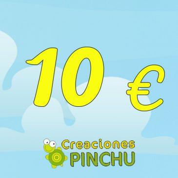 Encargo personalizado de 10 €